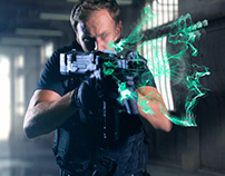 Sci fi Gun Shoot
