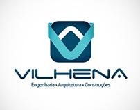 Logomarca Vilhena Construtora
