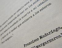 Jaguar de Abril. Edición de libro