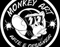 projeto de designer grafico para monkey art