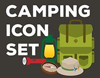 Camping Icon Set - 2017