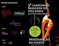 Folder - Campeonato de Pole Dance