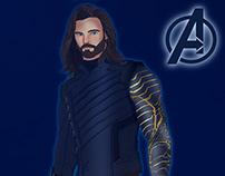 WInter Soldier - Avengers Infinity War