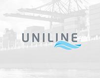 Uniline Agência Marítima - Rebranding