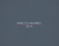 Reel Marcos Navarro 2014