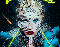 Digital art: Brooke Candy Freaky Prince$$ Poster