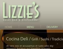 WEB DESIGN LIZZIE´S Restaurante