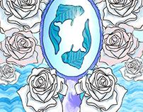 desenho- arte digital- ilustração- iemanjá