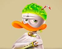 Vinheta pessoal 2, Duck the mad quacker
