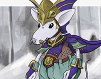 King of Burmecia  | Character Design