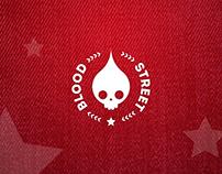 BloodStreet - Logo Fictício - Fictitious logo design