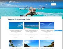 Diseño de Página Web Empresa: ViajesMargarita.com