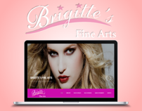 Web Site Brigitte´s Fine Arts