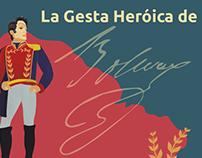 Infografía - Vida de Simón Boívar - desdelaplaza.com