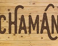 Chamán - Logo Design & Stand