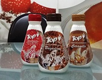Embalagens de cobertura de sorvetes - Top Ingredientes
