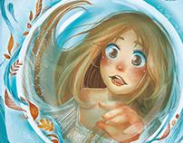 """Portada para libro """"Burbuja espejo"""" de Carmen M. Lobato"""
