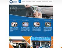 Diseño Web para Agencia de Seguros realizada en Joomla