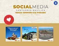 Social Media - Santuário Basílica N S Piedade