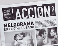 Newspaper ¨Acción¨ (with Aldo Cruces)