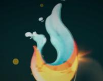 Mantra logo animation