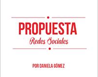 PROPUESTA para REDES SOCIALES.