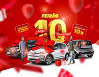Feirão 10 Anos Auto Shopping Andrômeda