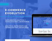 UI Design   Evoelution, E-commerce