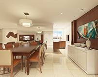 Maquete Virtual | Apartamento Arauz
