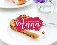 Anna Pasteleria Artesanal Branding
