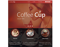 Coffee Cup Concept site
