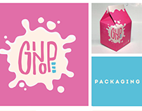 Ginope (Electropop): Lettering//Packaging