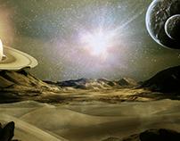 Starman - Matte Painting
