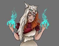 Gaia/ Gwen - Character Design