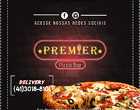 Design da caixa de Pizza (Premier Pizza Bar)