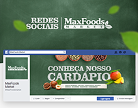 Redes sociais - MaxFoods