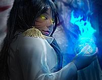 Ahri de League of Legends + Proceso