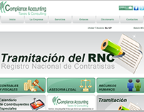 Compliance, Accounting, Taxes & Consulting Website.