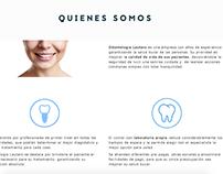 Redacción de contenidos web: Odontología Lautaro