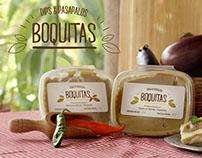 Diseño de logo y fotoproducto para marca de alimentos.