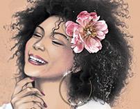 Ilustrações para catálogo de produtos Luzon