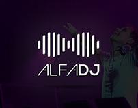 Logotype Alfa DJ