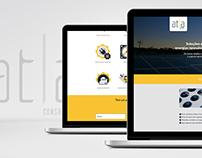 Interface Layout Atla Consultoria