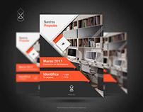 Brochure - Portada. Proyecto personal.