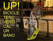 bicicletero Vertical Urbano