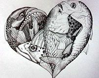 lovin' drawin' - miscellany funny, tender, weird stuff