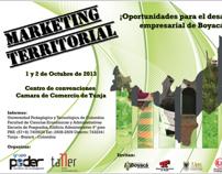 Afiche Marketing Territorial