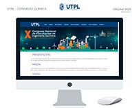 Web Congreso Quimica Utpl