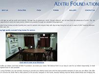 Website Development for Aditri Foundation