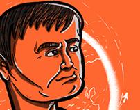 Jack Ma editorial ilustration